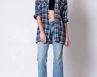 40% OFF CLEARANCE SALE The Vintage JCPenney Plaid Button Up Shirt