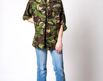 40% OFF The Vintage Lightweight UK Camo Camouflage Jacket
