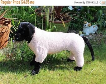 40% OFF SALE madmonkeyknits - Dog Chunky Garter Stitch Onesie knitting pattern pdf download - Instant Digital File pdf knitting pattern