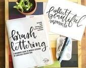 PRE ORDER Brush Lettering + Marker Guide Kit