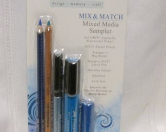 Faber Castell Mix and Match MIXED MEDIA SAMPLER