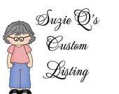 Custom Listing for Margaret