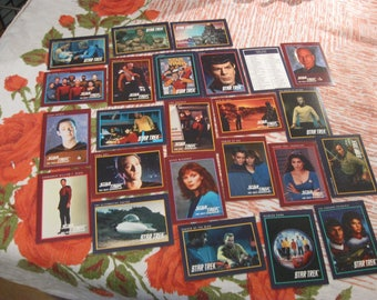 1991 star trek trading cards paramount pictures