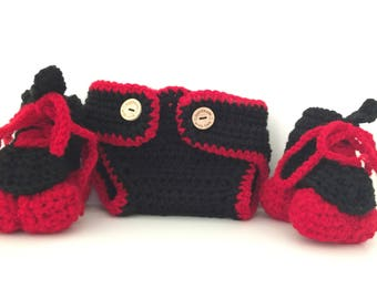 Roller Derby, diaper cover, Skate and Diaper cover Set
