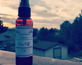 Bug Off! Essential Oil-based Insect Repellant