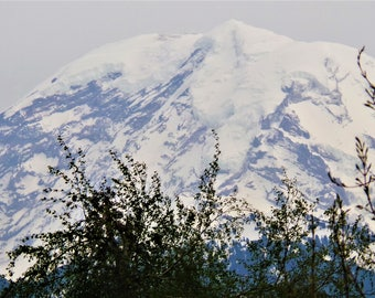 Mt Rainier Closeup