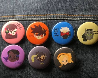 Overwatch Buttons