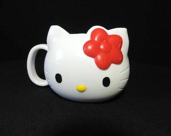 vintage Hello Kitty mug Japan Sanrio Smiles hard to find coffee cocoa tea cup