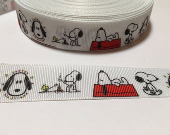 3 Yards of Ribbon - Snoopy and His Dog House