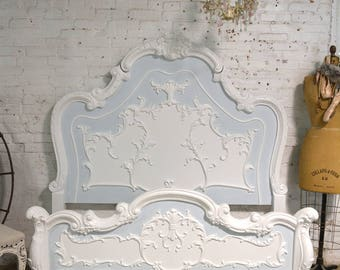 Painted Cottage Shabby Chic Romantic Bed BD771