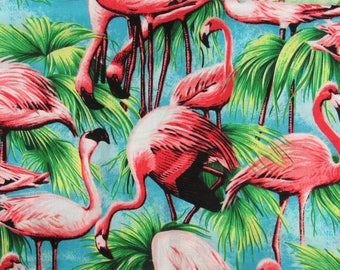 Flamingo Nights Quilt Kit-Fast-Easy-Fun-Gorgeous Colors-Flamingo Decor!