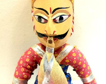 Mid Century Indian Snake Charmer Puppet