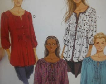 Womens Gorgeous Tops--Multi Size UNCUT Patterns-- 40-70% off Patterns n Books SALE