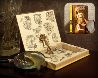 Hollow Book Safe (Vintage 1972 Nancy Drew: The Clue in the Jewel Box)