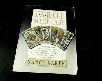 Tarot Card Book - Prophesy Fortune Telling Gypsy - Psychic How To Guide Reference