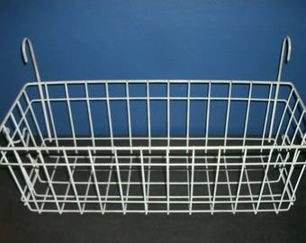 Vintage Wire Bicycle Basket