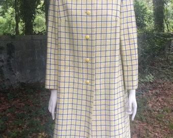 Springy Sunny-Side-Up Coat, 1960's