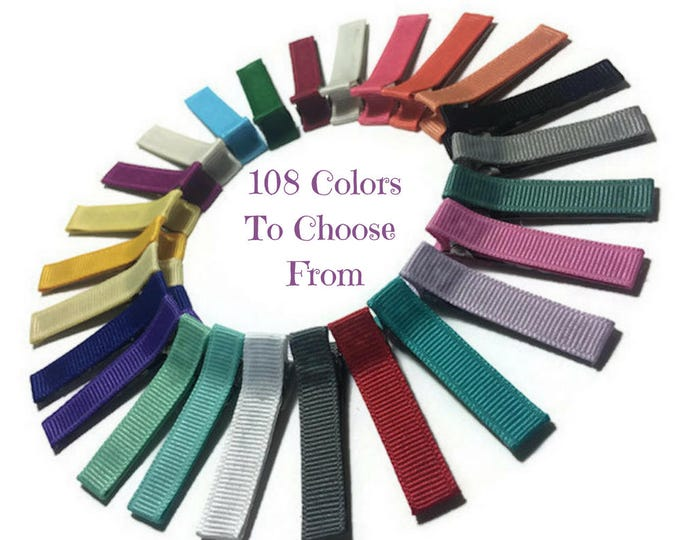 50 Solid Lined 45mm Alligator Clips