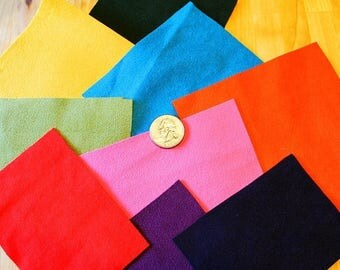 BIG SALE Ultrasuede Pieces, Ultrasuede Supplies, Ultrasuede Squares, Colorful Ultrasuede, Ultrasuede Patches, Ultrasuede Cuts, Ultrasuede Sc