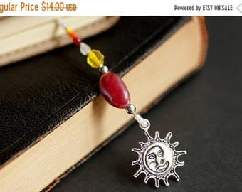 BACK to SCHOOL SALE Sun Bookmark. Red Bookmark. Beaded Book Thong. Yellow Bookmark. Beaded Bookmark. White Bookmark. Sun Book Charm. Handmad