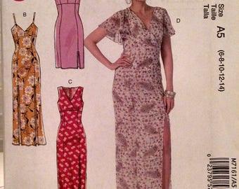 McCall's M7161 new uncut misses dress pattern