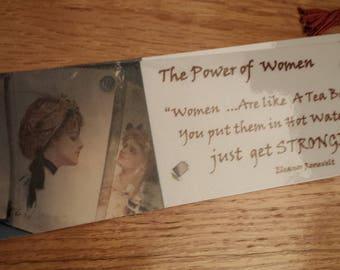 Bookmarks Laminated Women Power