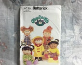 Butterick 6736, Cabbage Patch, Kids, Doll Clothes, clothes pattern only, sewing pattern uncut