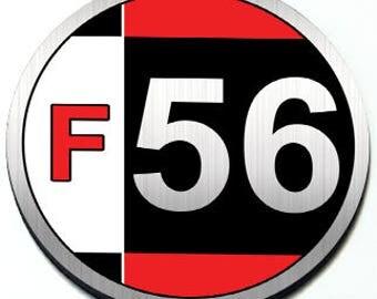 F56 - Grill Badge for 3rd Gen MINI Cooper Hardtop (2 door)