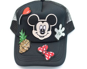 Mickey Mouse snap back Hat