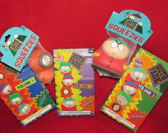 South Park - Vintage Squeezies and VHS Tapes