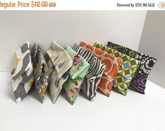 ON SALE SALE!! Variety Pack of 8 Bridesmaid Clutches
