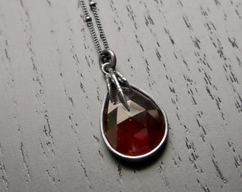 The Eyrie Necklace - Garnet
