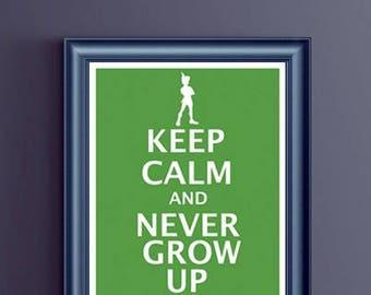 Disney - Keep Calm and Never Grown Up - Peter Pan