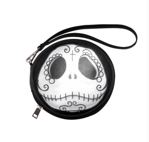 Jack Skellington round Clutch bag