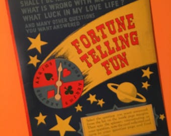 Vintage Fortune Telling Game