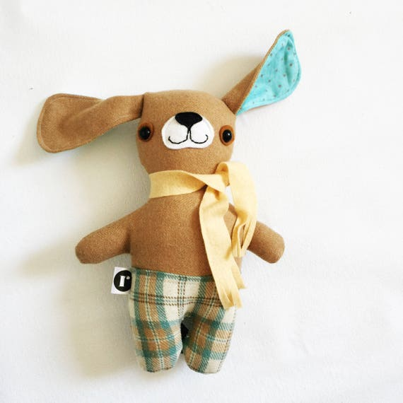 Puppypants in Tan Wool - READY TO SHIP