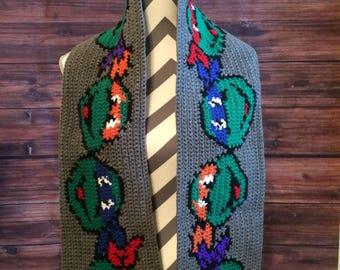 TMNT scarf