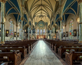 Cathedral of St John the Baptist Fine Art Photographic Print