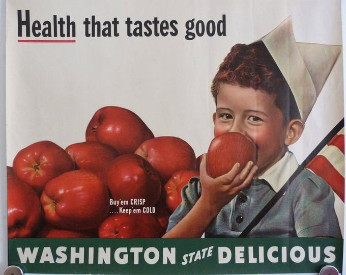 Original Washington state poster 1950's
