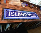 RESERVED LISTING for Ronald Kramer - NYC Mosaic Install - Mosaic Install - Island View