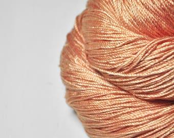 Half-empty Sundowner - Cordonnette Silk Fingering Yarn