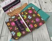 Dollbirdies Original Traveler Notebook Nano/Mini Pouch Insert Pocket