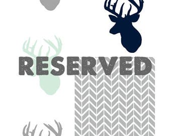 Reserved Listing for Krista RUSH