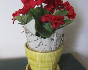 Vintage McCoy Pottery Plant Pot