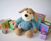 Riley the Puppy toy knitting patterns