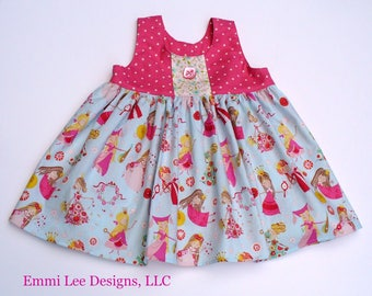 Girls Summer Top, Little Girls Top,Princess Top,Toddler Top,Pink, Princess,Sizes 12MO,18MO,2T,3T,4T,5T,6,7,8