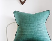 Kelly Wearstler Pillow Cover - 20X20 - Kumano Weave - Groundworks - green pillow cover -  ready to ship