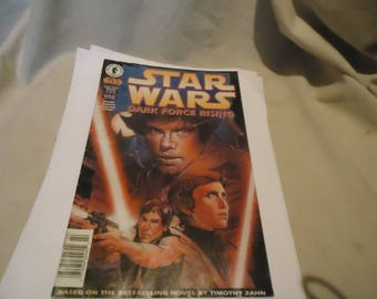 Vintage 1997 Star Wars Dark Force Rising Comic 2 of 6, collectable