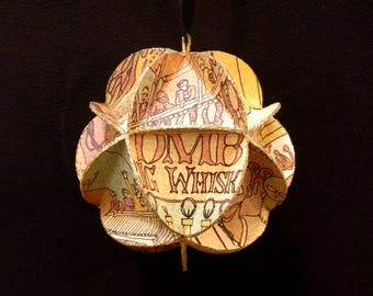 Dave Matthews Band DMB Album Cover Ornament Made From Record Jackets