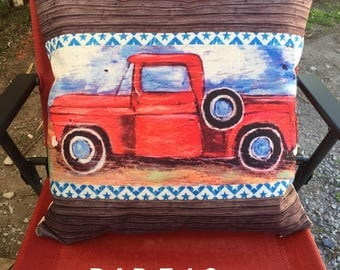 Old Truck Pillows